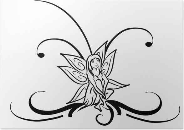Poster Fee Tribal Tattoo Pixers We Leven Om Te Veranderen