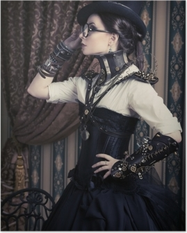 female steampunk Poster