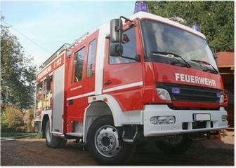 Feuerwehr Poster