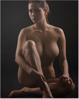figure of a naked woman Poster