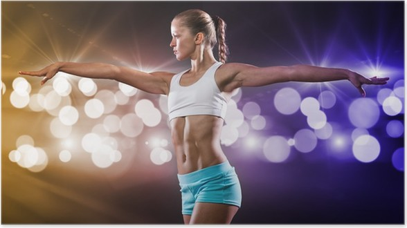 Fille Fitness Photo poster fille fitness • pixers® - nous vivons pour changer