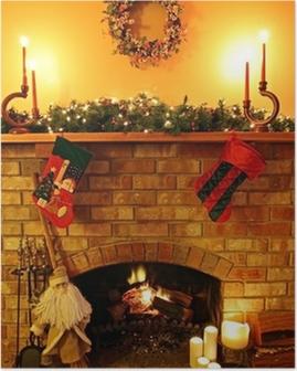 Poster Fireside Christmas