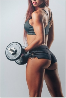 Póster Fitness mujer