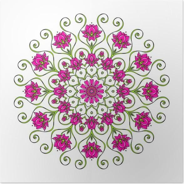 Enchanting Fleur De Lotus Mandala Collection - Coloring Pages Online ...