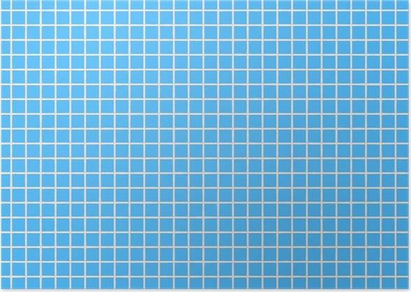 Fliesen Hellblau Tile Light Blue Poster Pixers We Live To Change