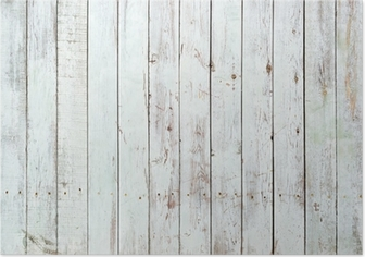 Poster Fond noir et blanc de la planche en bois