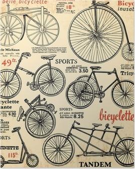 Fond Vélo 2 Poster