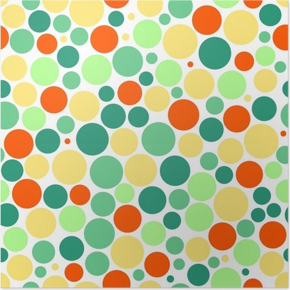 Póster Fondo transparente con puntos de colores • Pixers® - Vivimos ...