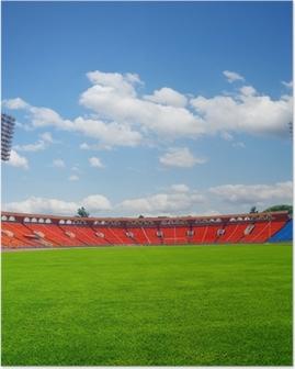 Poster Fotbollsplan