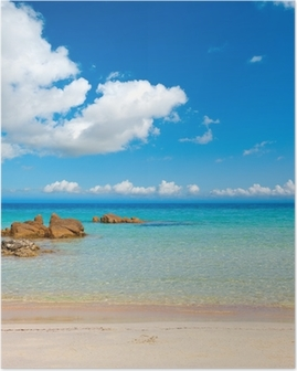 Poster France> Corse> Plage> Sable
