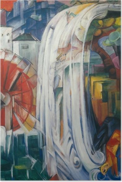 Póster Franz Marc - El molino embrujado - Reproductions