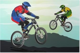 Poster Freestyle mountainbike