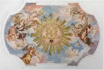Poster Fresco angels