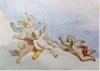 Fresco Wieskirche Poster