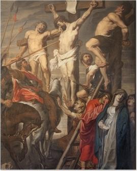 Poster Gent - Christus op het Kruis door Rubens