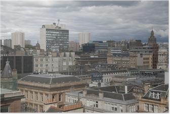 Glasgow Cityscape Poster
