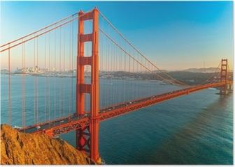 Golden Gate Bridge, San Francisco Poster