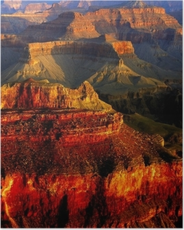 Poster Grands couleurs Canyon