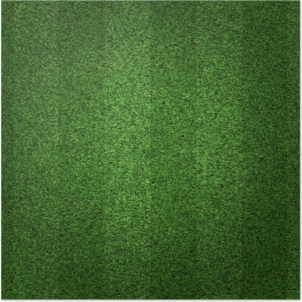 green grass soccer field. Green Grass Soccer Field Background Poster Green T