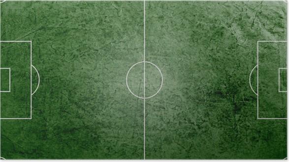 grass soccer field. Green Grass Soccer Field Background Poster