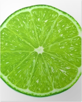 Green Limes Poster