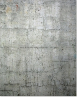 grunge concrete texture background Poster