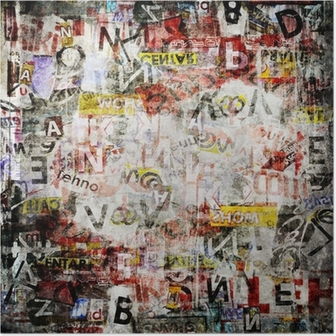 Poster Grunge getextureerde achtergrond