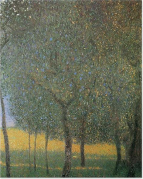 Poster Gustav Klimt - Arbres Fruitiers - Reproductions