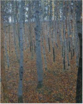 Gustav Klimt - Birch Forest Poster