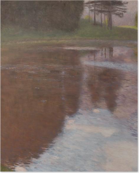 Poster Gustav Klimt - L'Etang tranquille - Reproductions