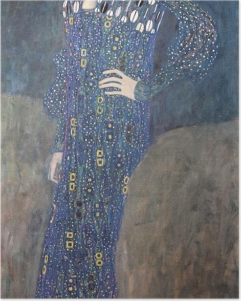 Poster Gustav Klimt - Portrait d'Emilie Flöge - Reproductions