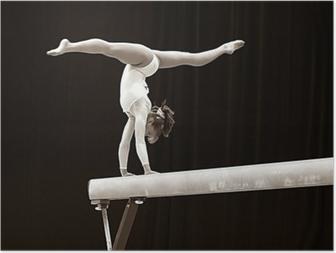 Poster Gymnast