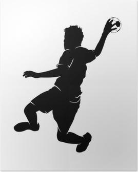 Handballer Poster