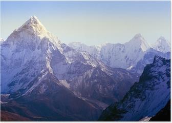Himalaya Mountains Poster HD