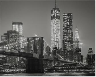 Poster HD New York de nuit