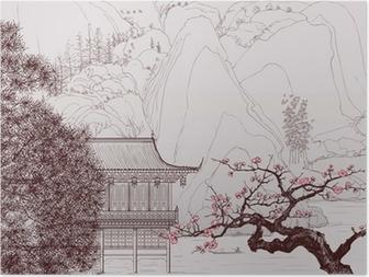 Poster HD Paysage chinois