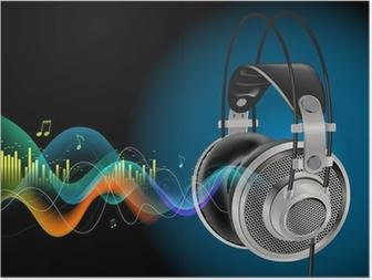 Poster Headphones