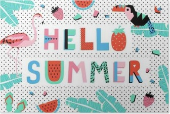 Hello Summer Poster Poster