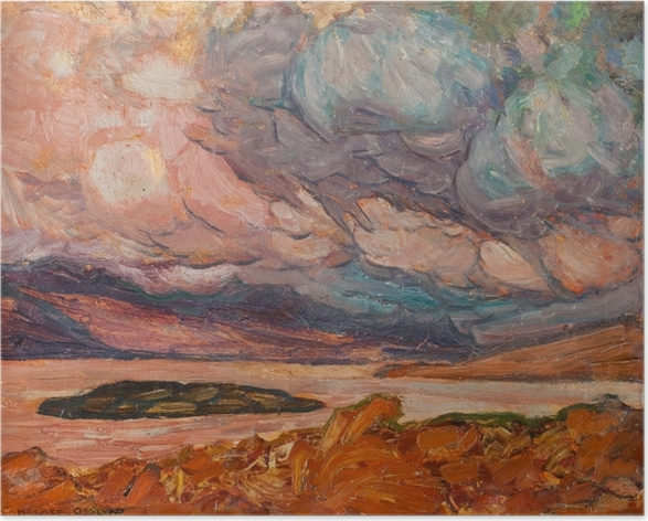 Helmer Osslund - Landscape Poster - Reproductions