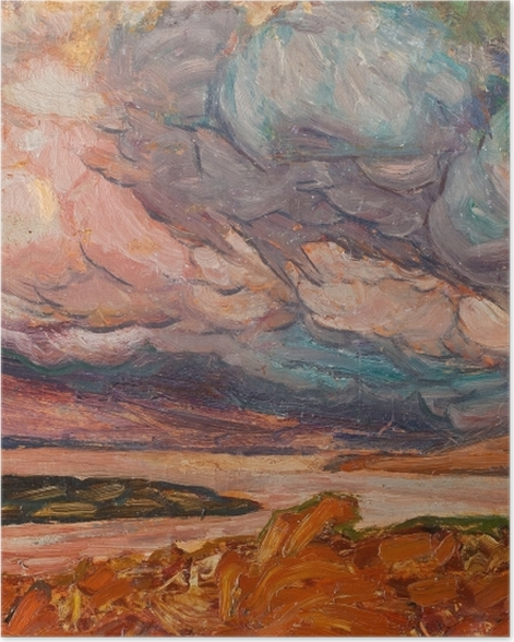 Poster Helmer Osslund - Paysage - Reproductions