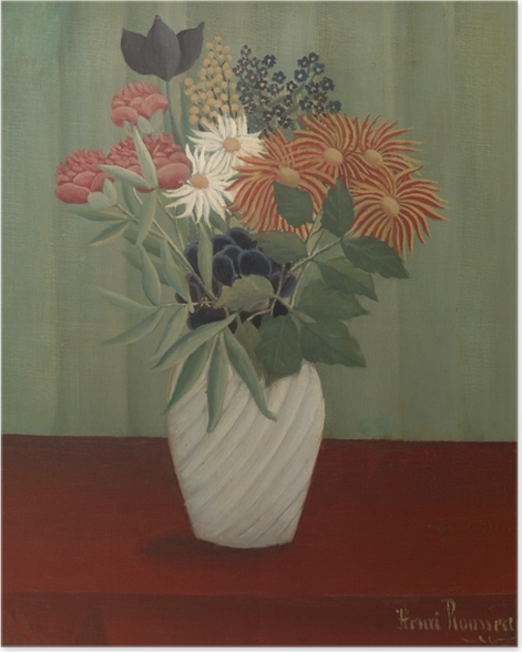 Henri Rousseau - Bouquet of Flowers Poster - Reproductions