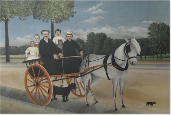 Poster Henri Rousseau - La Carriole du père Junier - Reproductions