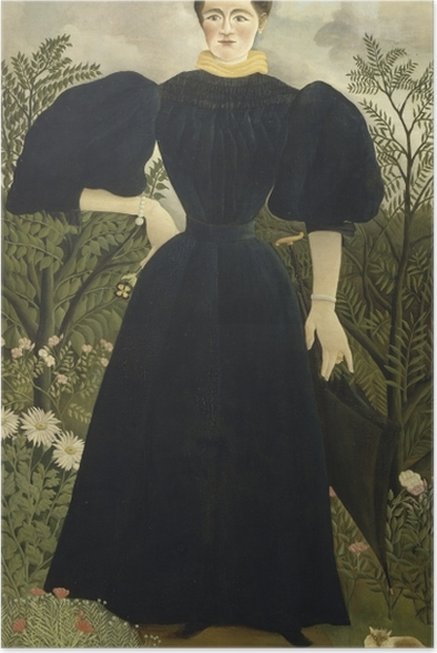 Henri Rousseau - Portrait of a Woman Poster - Reproductions