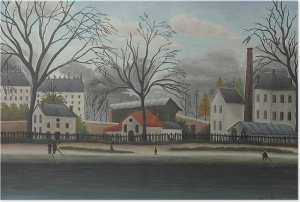 Henri Rousseau - Suburban Scene Poster - Reproductions