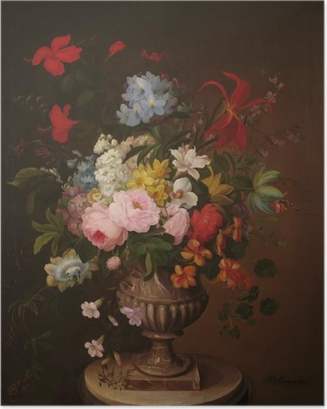 Poster Henryka Beyer - Fleurs dans un pot - Reproductions