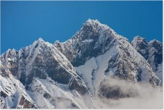 Poster Himalaya gebergte
