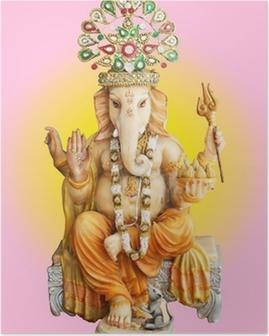 Hindu God Ganesha Poster
