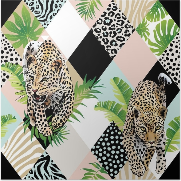 Increíble Leopardo Diseños De Uñas Del Dedo Del Pie De Impresión ...