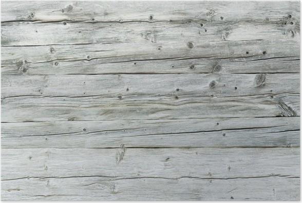 Holzfläche, Hintergrund, Grunge Style, Vintage, Bretter Poster