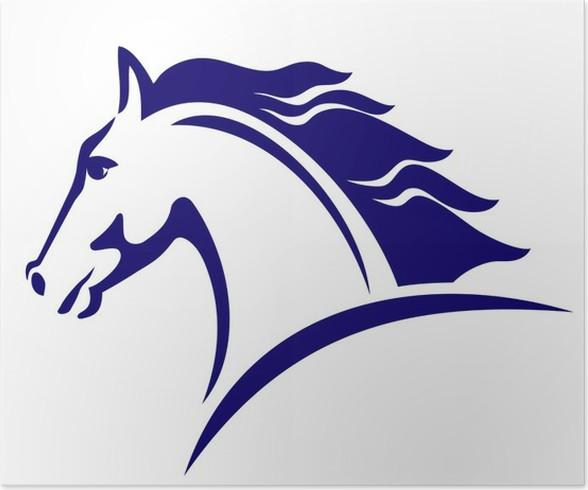 Horse Symbol Template For The Logo Poster Pixers We Live To Change
